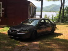 Birthday weekend I had at my girlfriends family's lake house  My 2 loves my girl and my car 😏