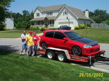 First day i got it back and put it on a trailer for HIN 2002