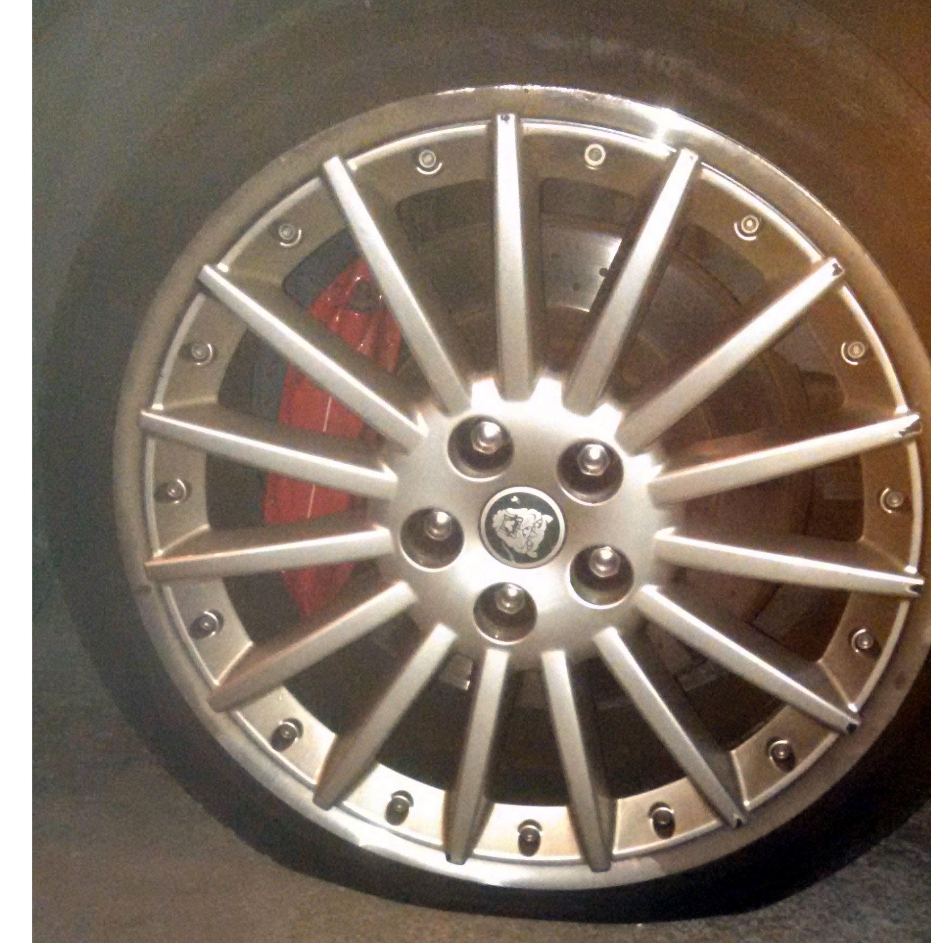 """OEM 20"""" Wheel repair or Jaguar Forums Jaguar Enthusiasts Forum"""