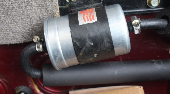 Fuel Lines In Trunk - Jaguar Forums