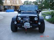 07 Jeep Warn bumper