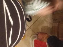I already lost my feet unless I lean forward a bit lol