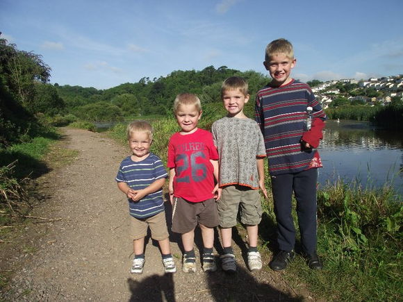 My four nephews
