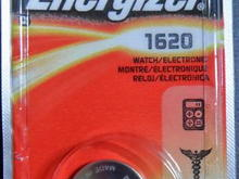 7 key fob mazda Battery CR1620