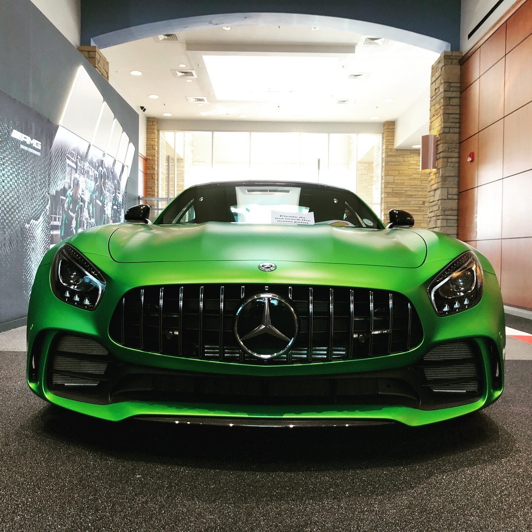 2018 Mercedes-Benz AMG GTR Coupe MSRP $205k+ AMG Green