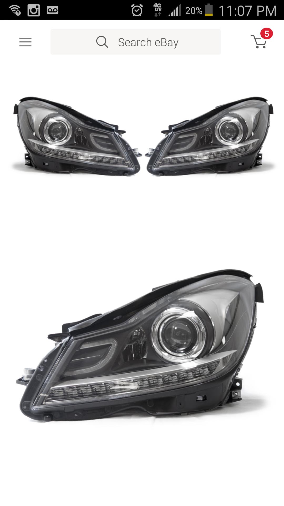 2008 C300 Facelift Headlight Help