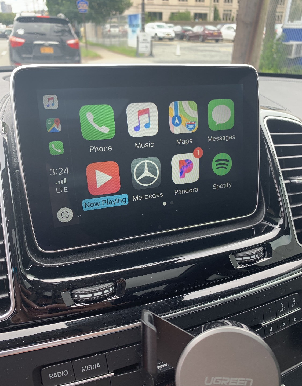 2015 W166 GLE400 4matic finally got CarPlay - MBWorld org Forums