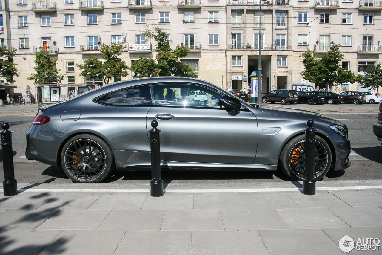 Mercedes Amg C63s Coupe In Selenite Grey Pics Page 28 Mbworld Org Forums