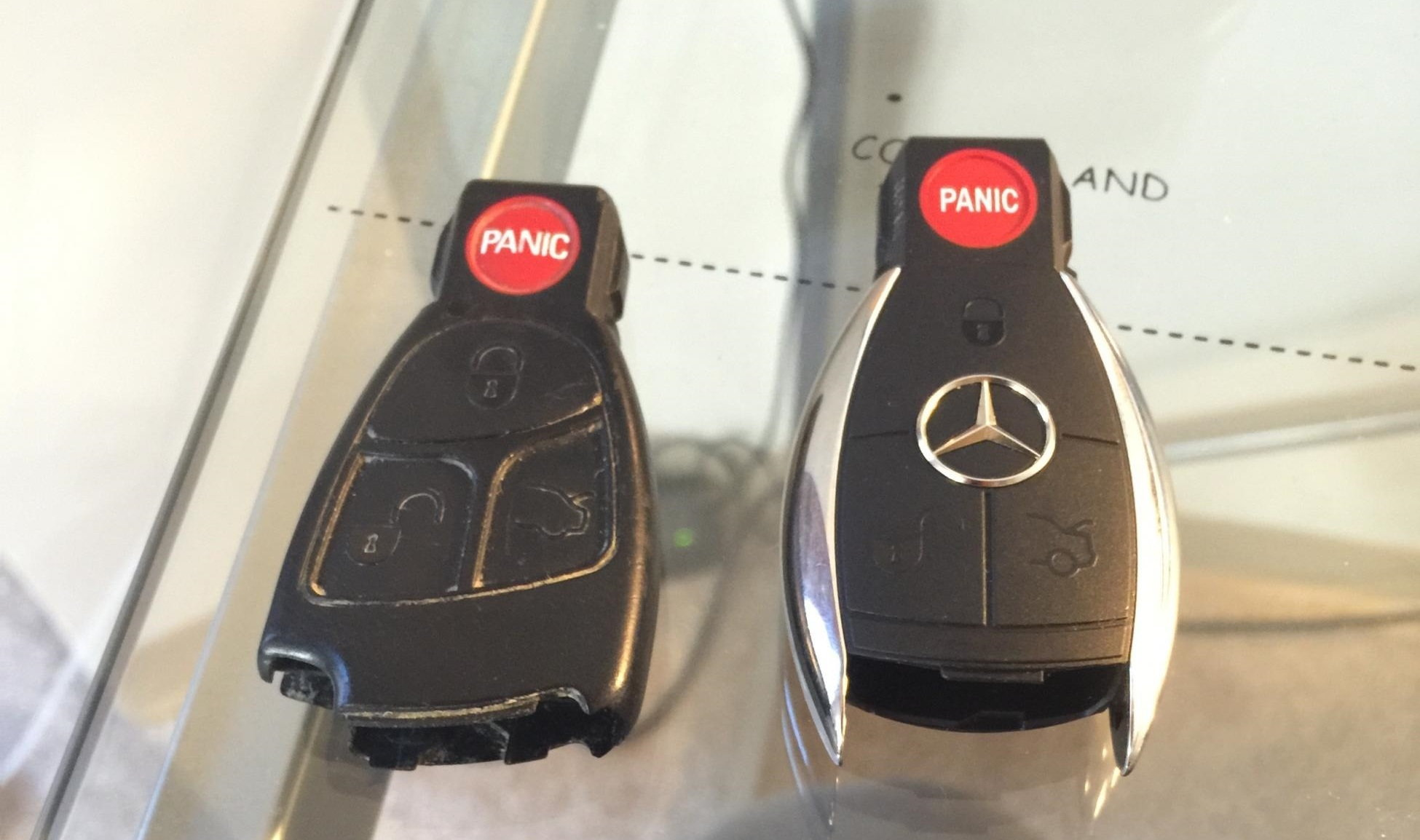 DIY: New Chrome key upgrade/retrofit  - MBWorld org Forums