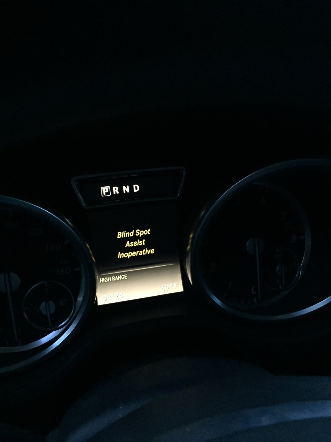 G550 what does it mean blind spot assist inoperative - MBWorld org