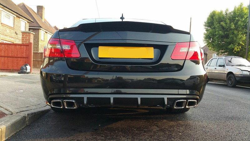 W212 E63 AMG RENNtech genuine carbon fibre rear spoiler | MBClub UK