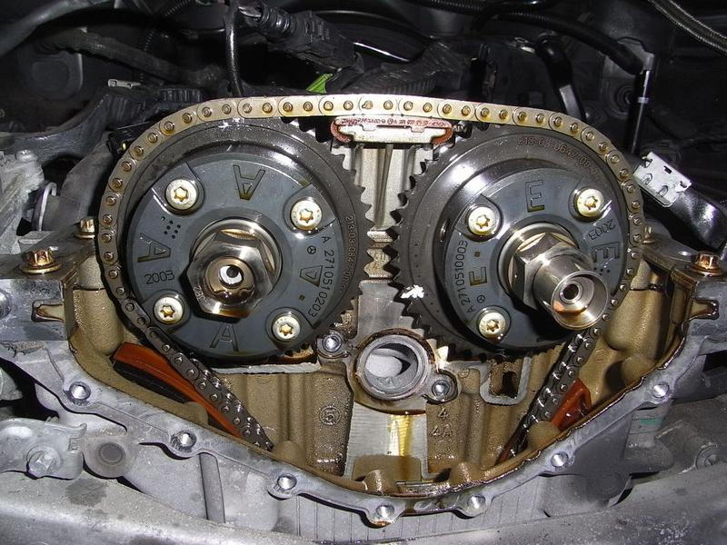 Timing chain guide issues pajero