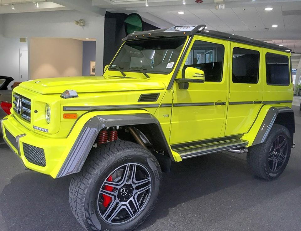 Neon Yellow Mercedes Benz G500 Amg 4x4 178 Mbworld Org Forums