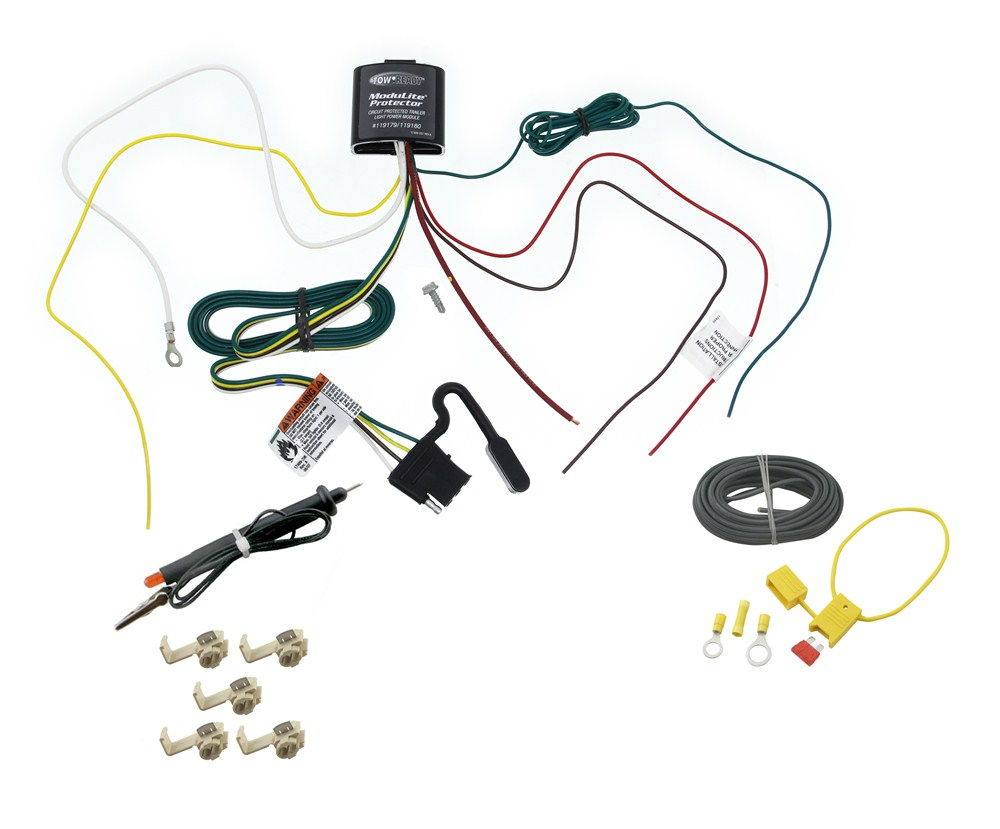 Tow Ready Trailer Wiring Diagram Opinions About Dodge Hitch Countryman Modulite North American Motoring 2012