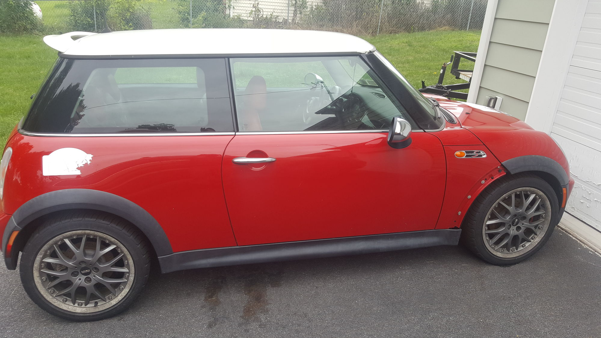 I Have All The Trim It Just Needs To Be Put Back On Year 2004 Make Mini Model Cooper S Mc40 Price 3500 Mileage 145 000 Color Chili Red