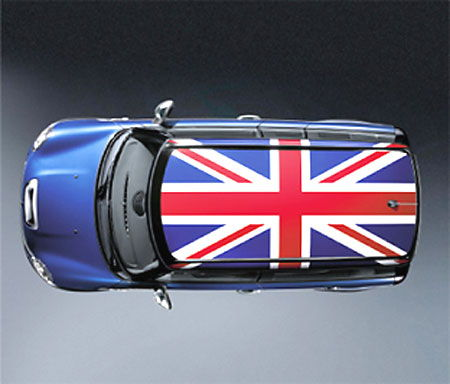 Blackjack Roof Graphic North American Motoring - Bmw mini roof decals