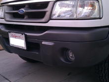 painted edge bumper