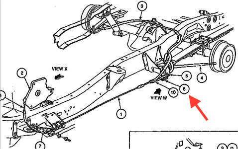 parking brake equalizer cable spring? - ranger-forums - the ultimate ford  ranger resource  ranger-forums