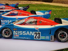 Tamiya Nissan R91CP collection