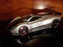 Pagani Zonda F by HPI with 3 Racing Custom Disc Brakes and TonyZone Aluminum Wheels and Tires