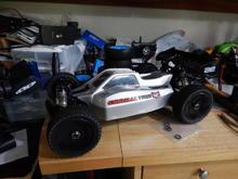 Rc8.2e with bulldog body.