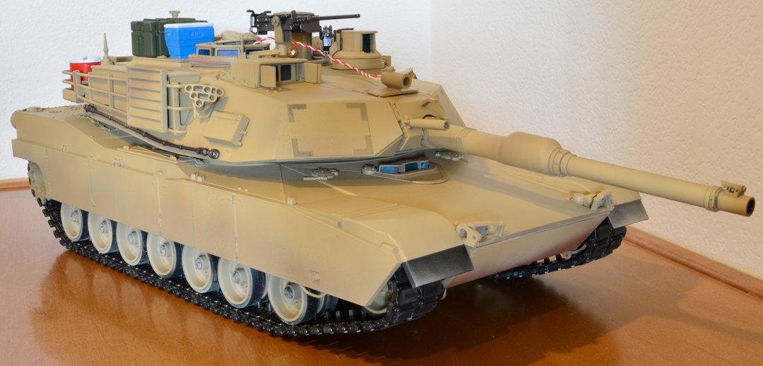 Tamiya Abrams M1A2 Rebuild, Repaint + Working RC Setup