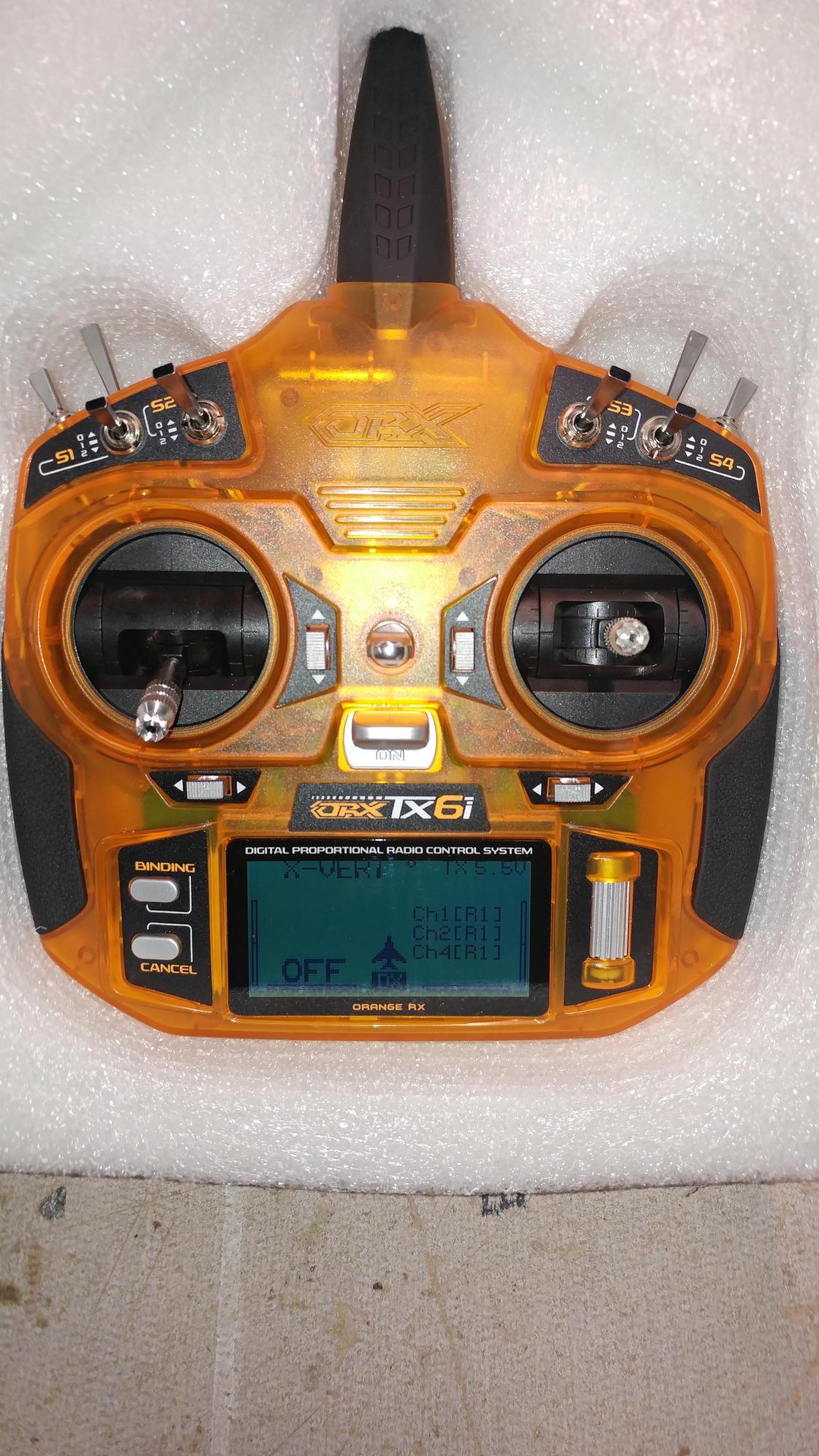 Orange Tx6i Full Range 2 4GHz DSM2/DSMX compatible 6ch Radio System