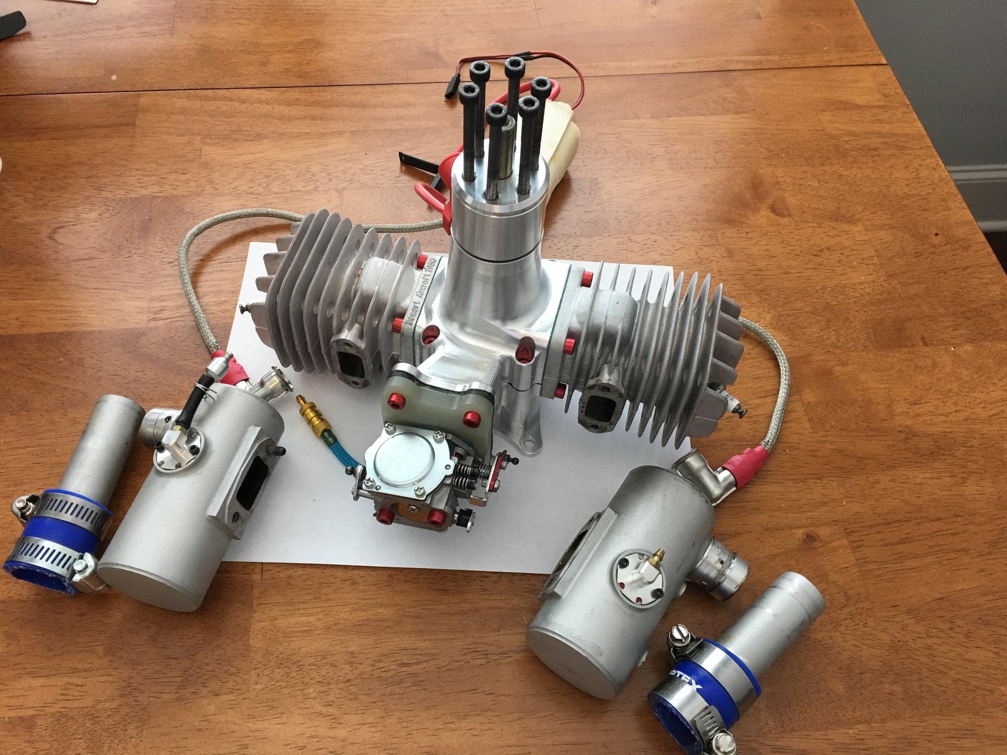 DA-100 with smoke mufflers - RCU Forums