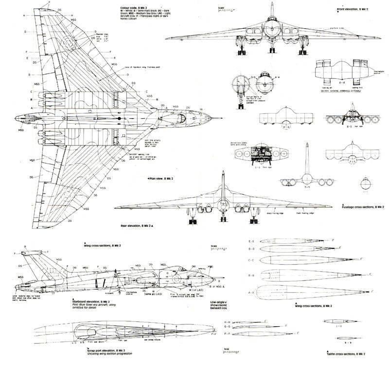 Air Foils For Avro Vulcan Delta Wing 48 Rcu Forums