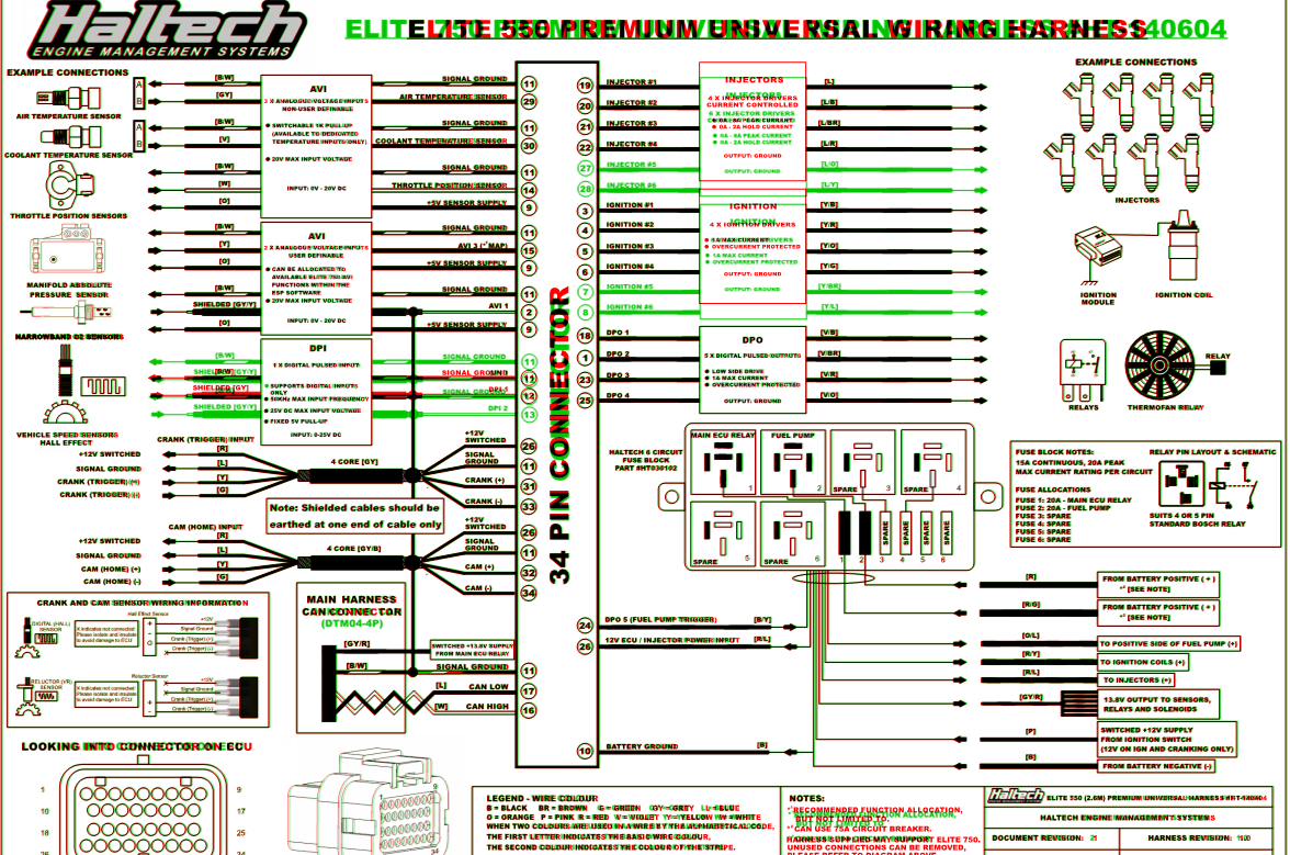 wiring in haltech 550 elite first haltech rx7club com mazda rh rx7club com haltech elite 750 wiring diagram haltech elite 1000 wiring diagram