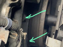 First sign something was wrong.  Valve train aligned at Cylinder 1 TDC but look how off the TDC mark is to the triangle.
