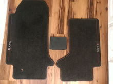 Driver Passenger and Rear Cabin Partition Rubber mat