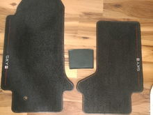 Driver, Passenger and center console mats
