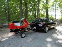 2008 Saturn Astra's and 1964 Corvair and Topper