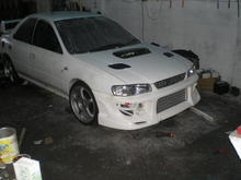 Front  bumper test  &  I didnt like it so flogging it was a good idea