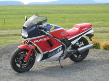 This was a beautiful dream, my 11K mile 1986 VF1000R, went to Auckland NZ.