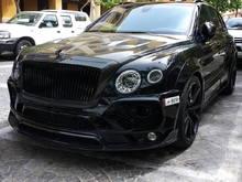 All black Mansory Bentley Bentayga in Doha, Qatar.
