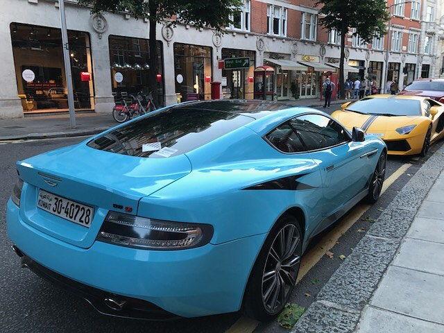 Baby Blue Aston Martin DB9 - Teamsd.com