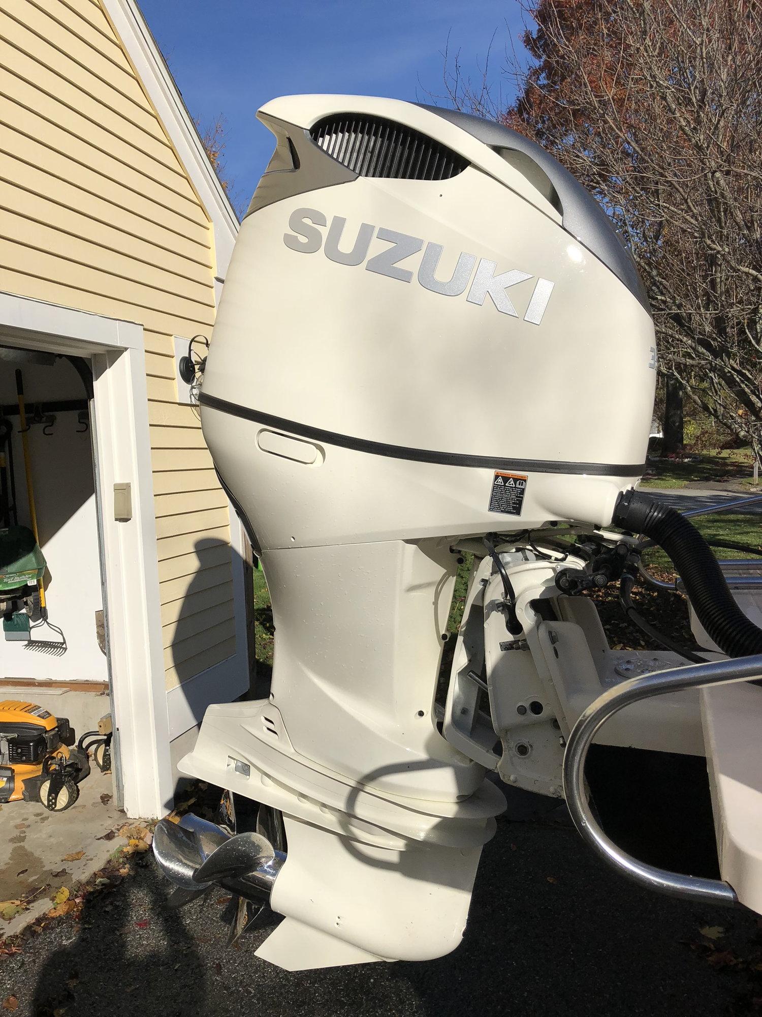 2003 grady white gulfstream 232    2018 suzuki df 350