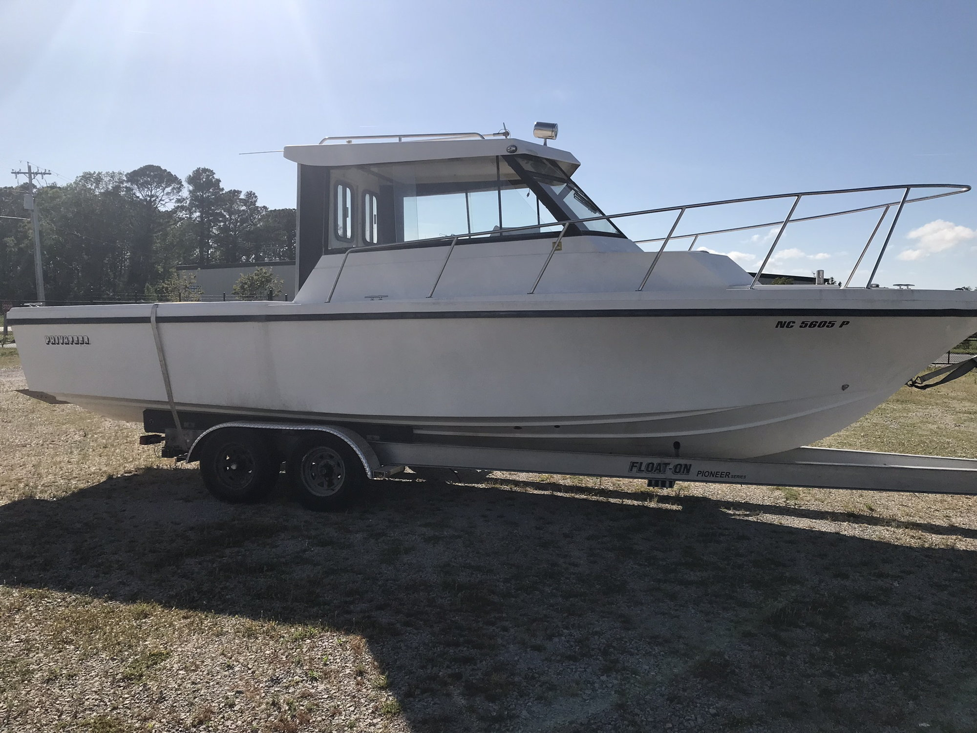 28' Privateer Pilothouse 1997