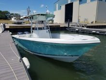 Sailfish 266 - Would love to see a helm mat in seafoam green.