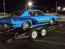 1972 Mercury Comet my mom drove me to school in at 8 yrs old. Now runs 940 in the 1/4.