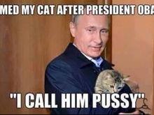 I call him