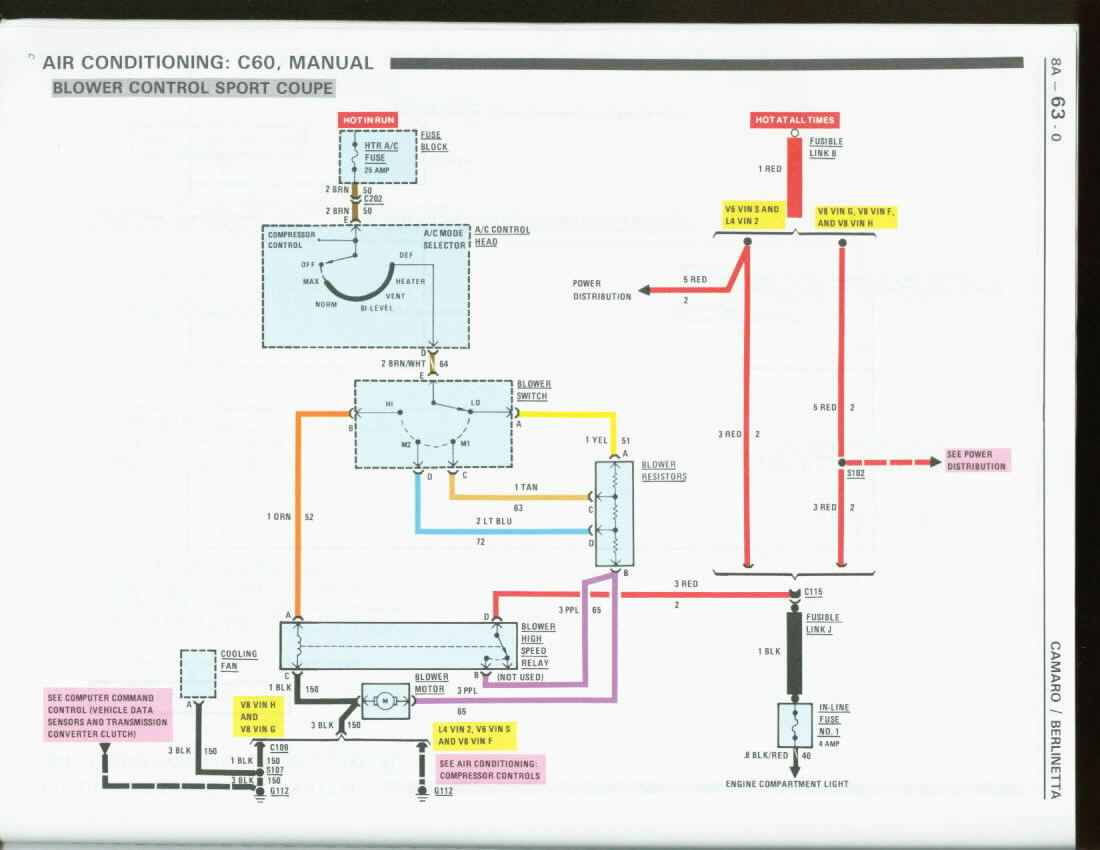 Blower Motor Wiring Non AC - Third Generation F-Body Message Boards | Hvac Motor Wiring |  | ThirdGen.Org