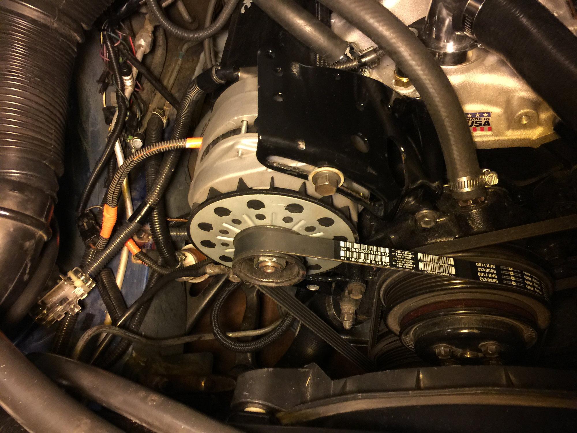 86 Camaro Alternator Wiring Diagram