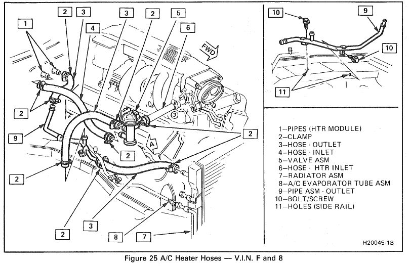 1997 Camaro Heater Diagrams