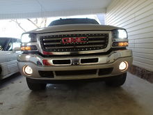 After new grill, headlights and fogs