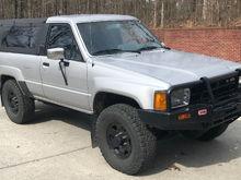 """1987 Toyota 4Runner SR5 """"Malcom"""""""