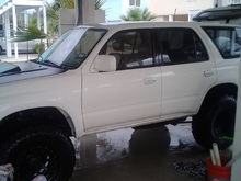 """My last build 96 with 2"""" spacers and 285/75r16 Kelly Safari TSR. 300k miles excellent daily and play toy."""