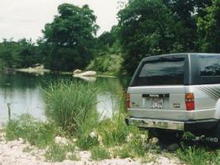 88 4Runner Blanco River in 1999